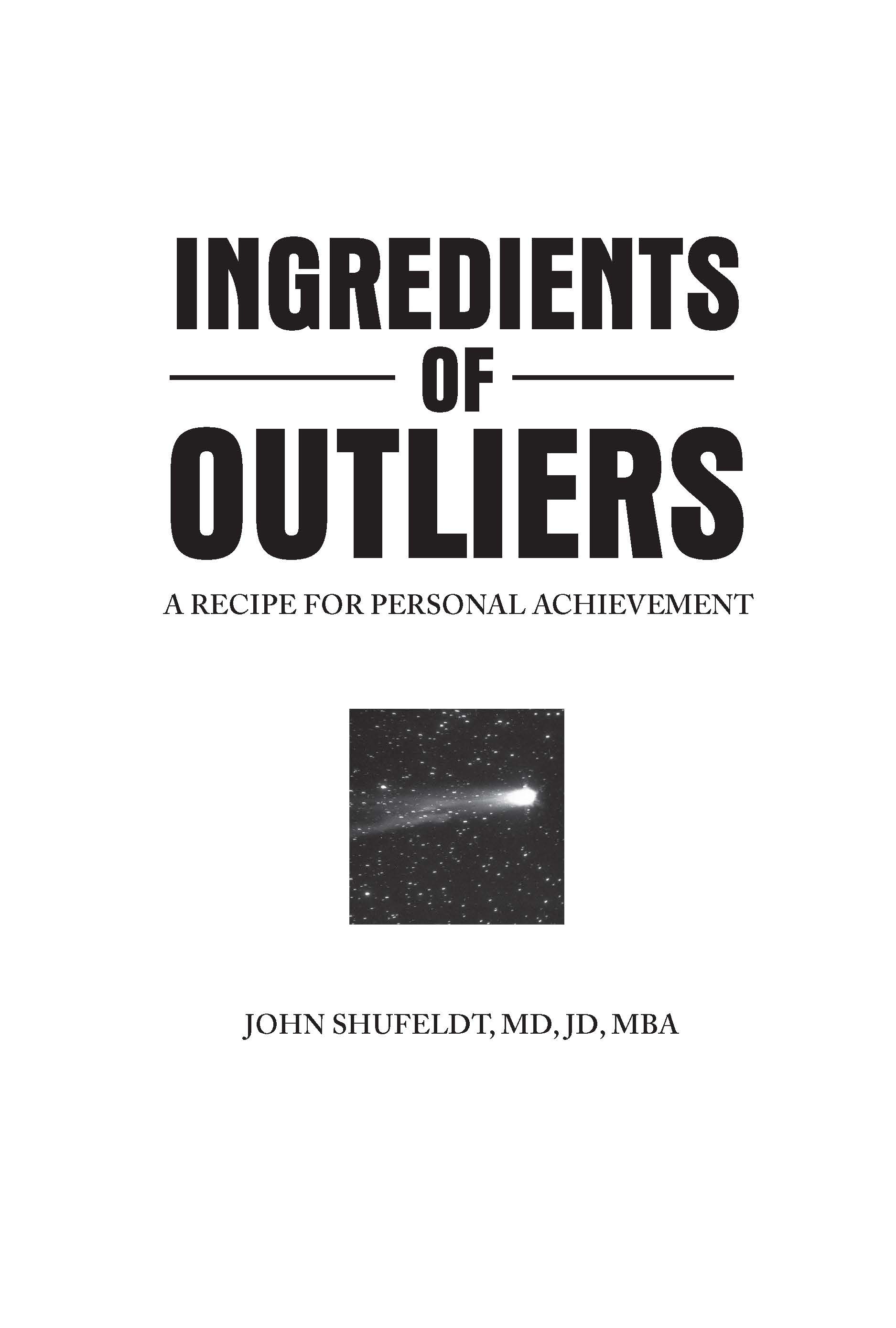 Ingredients Of Outliers A Recipe For Personal Achievement