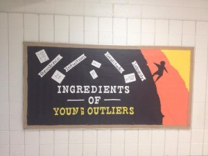 Ingredients of Young Outliers book signing at Finley Farms Elementary School