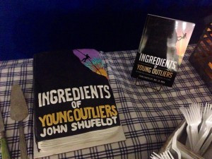 Ingredients of Young Outlierscake
