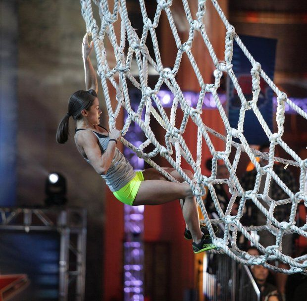 Kacy Catanzaro, first female American Ninja Warrior Finalist