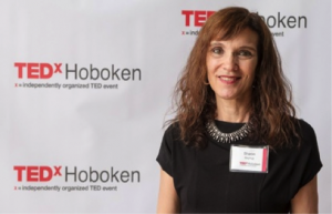 Sharon Guynup, was invited to speak at TEDx in Hoboken
