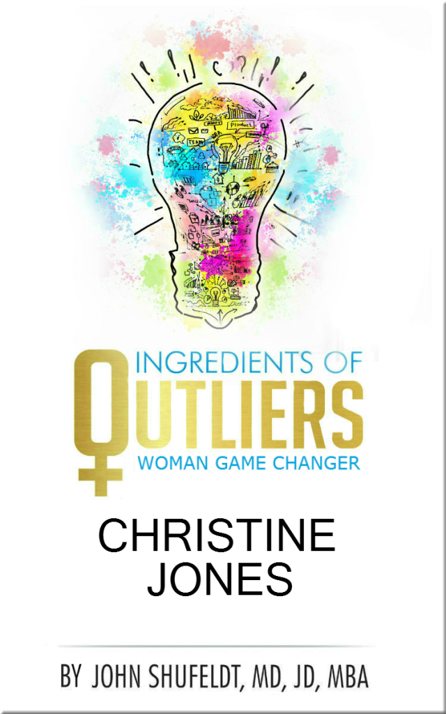 Woman Outlier Christine Jones