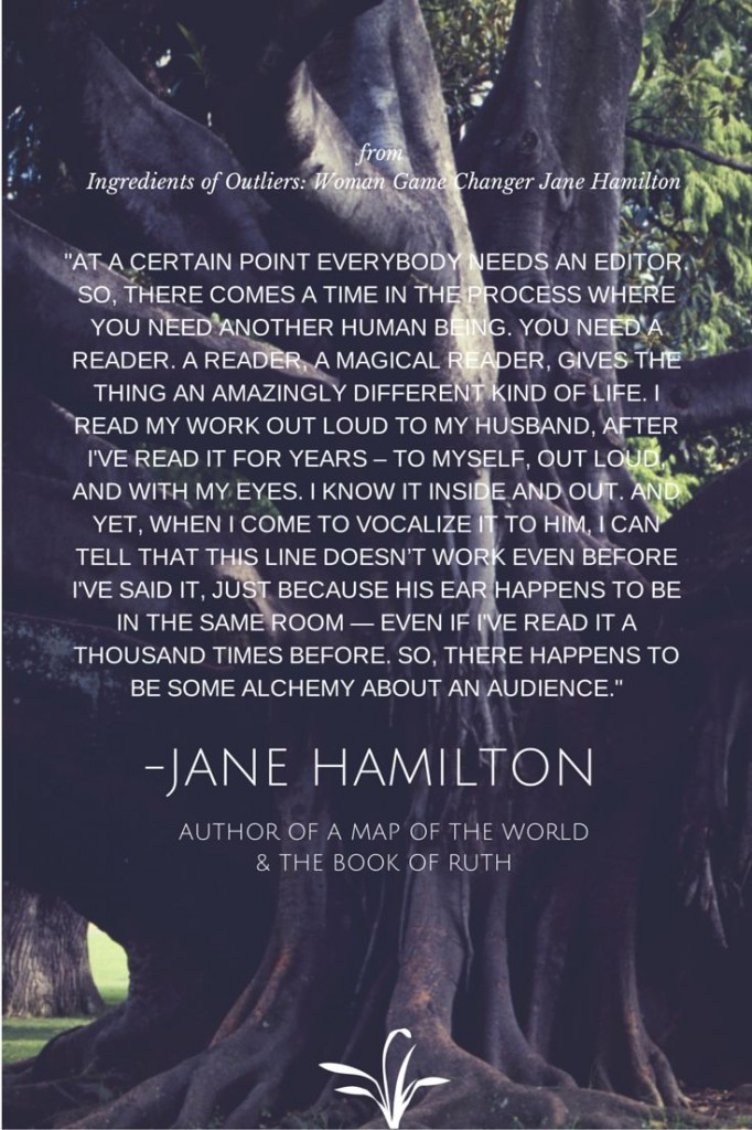 Jane Hamilton Quote Woman Game Changer
