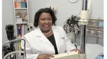 Dr. Mildred M. G. Olivier, Ophthalmologist honored on World Sight Day