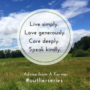 Advice from An Old Farmer
