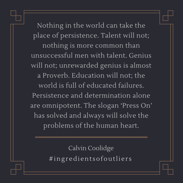 Persistence- Coolidge