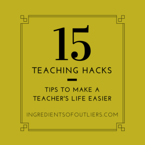 Teaching Hacks