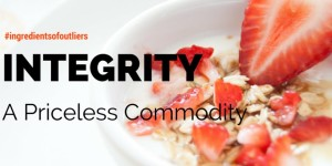 Integrity Shapes Lives