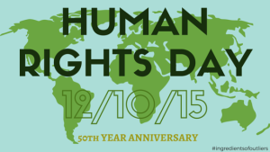 The 50th Year Anniversary of Human Rights Day