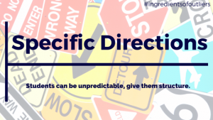 Specific Directions