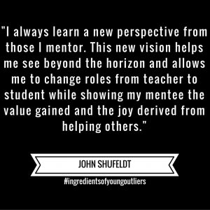 John Says – Mentorship Provides New Perspectives