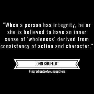 John Says – Integrity Provides Inner Wholeness