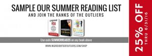 Summer Reading List 25% Off Promotion!